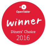 Diner's Choice Winner 2016