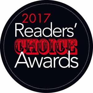 Table 13 nominated for 2017 Readers' Choice Awards
