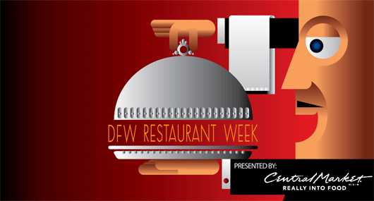 Table 13 accepting reservations for DFW Restaurant Week